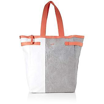 Bree Vary 6 - Crossbody bag, unisex, 10 x 32 x 42 cm, Grey (Grey/White/Sunset).), 10x32x42 cm (B x H x T)