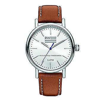 River Woods Analog Men's Quartz Watch with Leather Strap RW420029