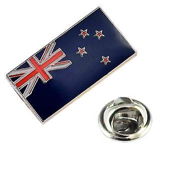 Krawatten Planet Neuseeland Flagge Revers Pin Abzeichen