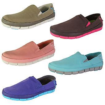 Crocs Donna Stretch Sole Slip Su Loafer Shoes