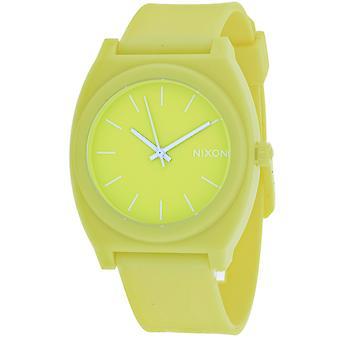 Nixon Tiempo de las mujeres Teller Green Dial Watch - A119-3014