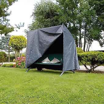 Natuurtuinmeubelenhoes voor veranda schommels 255x170x143 cm