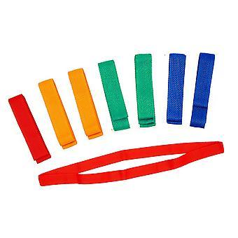Team Bands (Pack of 10) 100cm Blue