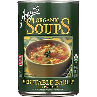 Amys Soup Vgtble Barley Org, حالة 12 X 14.1 Oz