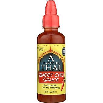 Taste Of Thai Sauce Sweet Red Chili, Case of 6 X 7 Oz