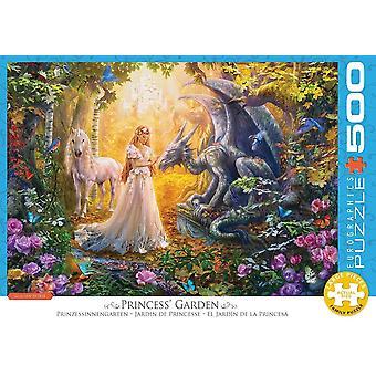 Eurographics Princess' Garden Jigsaw Puzzle (500 XL Grandes Pièces)
