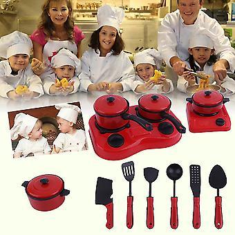 12pcs/11pcs Set kreative Kinder Kind Diy pädagogische Küche Kochen Spielzeug Set