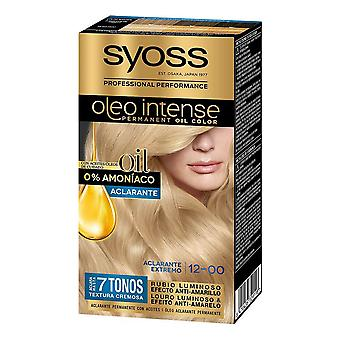 Dye No Ammonia Pack Syoss Olio Intense Nº 12 (5 pcs)
