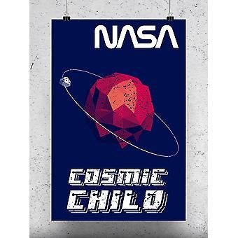 Cosmic Child Poster - NASA Designs