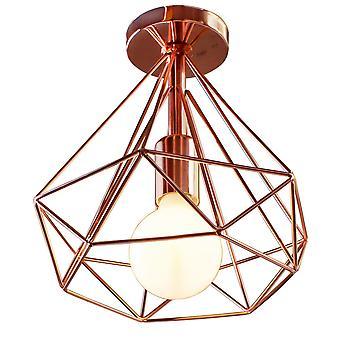 Moderner nordischer Minimalismus Led Deckenleuchten Retro Eisenlampe für Home Living Room Decor
