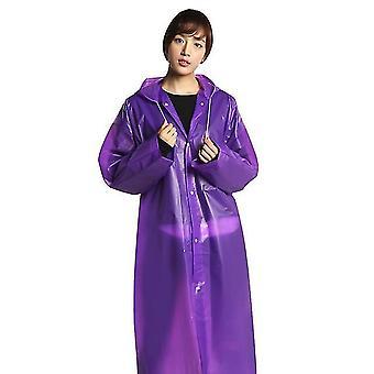Imperméable imperméable épaissi imperméable adulte clear hoodie rainwear sm158843