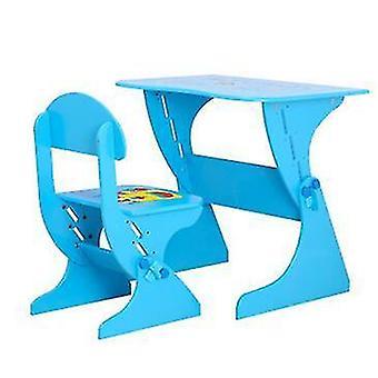 Justerbar Høyde Chilren Study Desk Skrivebord Laptop Skrivebord med Stol