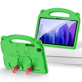 Case For Samsung Galaxy Tab A7 2020 10.4,shockproof Lightweight Convertible Handle Stand Protective Kids Child Cover - Green Panda