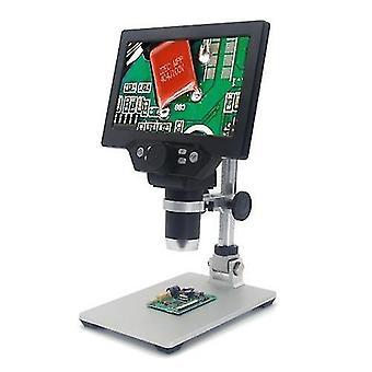 G1200 digitális mikroszkóp 7 hüvelykes nagy színes képernyő