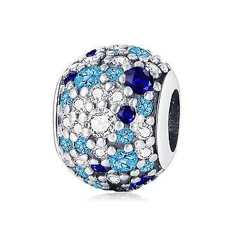 Karkötő 925 Sterling ezüst gyöngyök Charm Többszínű karkötő gyöngyök Ékszer nők | Varázsa