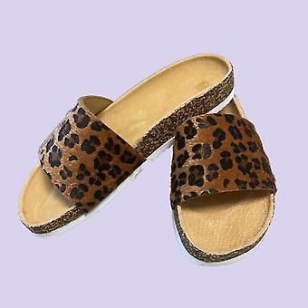 Leopard Print Slider Katzenpantoffeln(7)