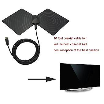 Tv Flat Hd Digital Indendørs forstærket Tv Aerial Signal Booster HDTV Høj Gain