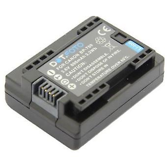 Dot.Foto BP-709 PREMIUM 3.6v / 895mAh reemplazo batería de videocámara recargable para Canon [Consulte Descripción para la compatibilidad]