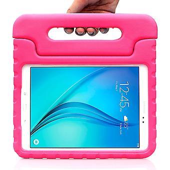 Samsung Galaxy Tab A 9.7 Case-i-Blason Armorbox Kido Series Lightweight, Convertible Stand-Pink