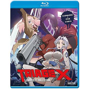 Triage X [Blu-ray] USA import