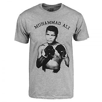 Muhammad Ali Mens Muhammad Ali Nough Said T Shirt Heather Grey