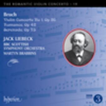 Bruch, M. / Lieback, Jack / Brabbins, Martyn - Romantic Violin Concerto 19 [CD] USA import