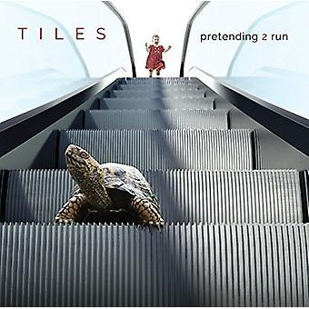 Tiles - Pretending 2 Run [CD] USA import