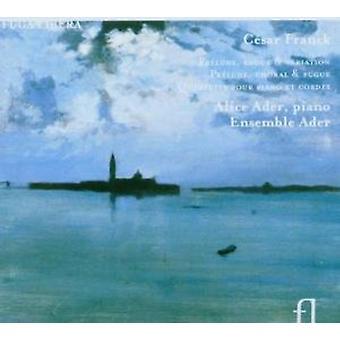 C. Franck - C Sar Franck: Pr Lude, Fugue & Variation; Pr Lude, Choral & Fugue; Quintette Pour Piano Et Cordes [CD] USA import