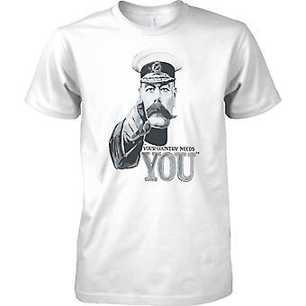 WW2 Propaganda Poster - dein Land braucht dich - Kinder T Shirt