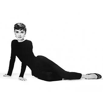 Audrey Hepburn Sabrina Poster Plakat-Druck