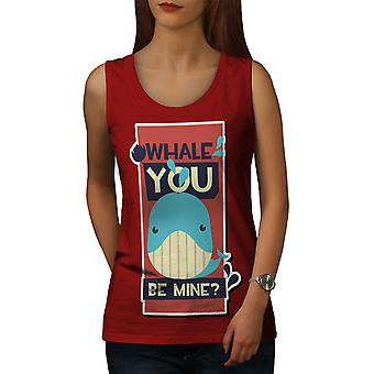 Sen Mine Funny Women RedTank Top | Wellcoda
