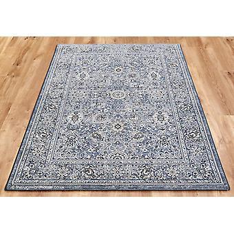 Nobliera bleu gris tapis