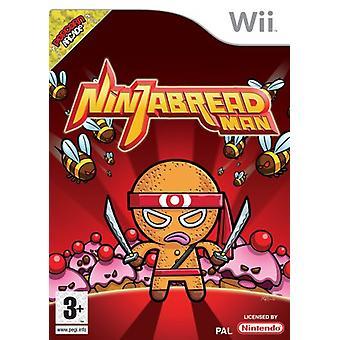 Ninja Bread Man (Wii) - New