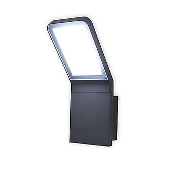 LED duvar lambası açık Villads koyu gri 6500 K 10644