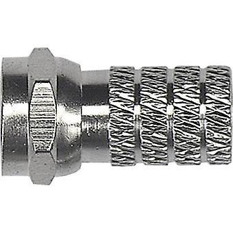 F-mufă diametru cablu: 4,7 mm