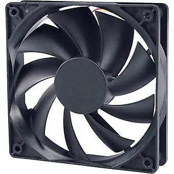 Akasa AK-174BKT-B PC fan (W x H x D) 120 x 120 x 25 mm