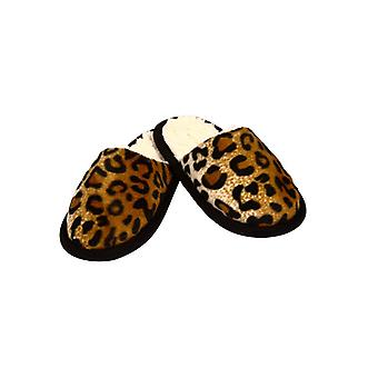 Slippers in a Cheetah look - 44/45