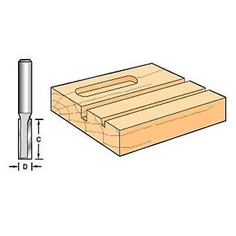 Trenden C007 X 1/4 volframkarbid två flöjt 6,3 mm