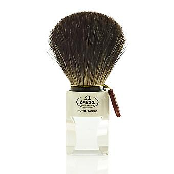 Omega 6189 Pure Badger Hair Shaving Brush