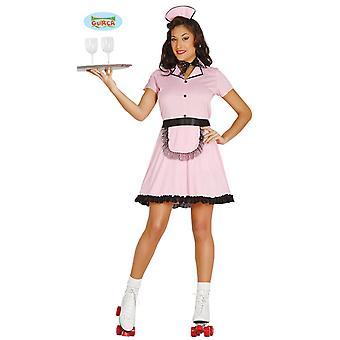 Sexy chelnerita Rollergirl servire fata Roller Shoerider servire femeie costum pentru carnaval femeii
