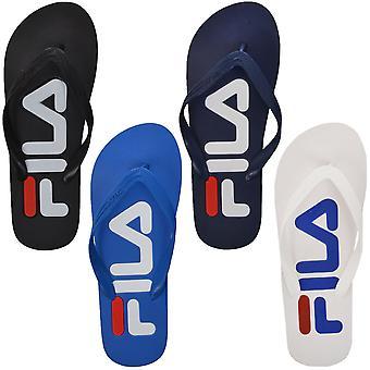 Fila heren Troy Flip Flops strand zwembad vakantie Slip op sandalen slipper