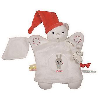 Kaloo Doudou Puppet Bear White