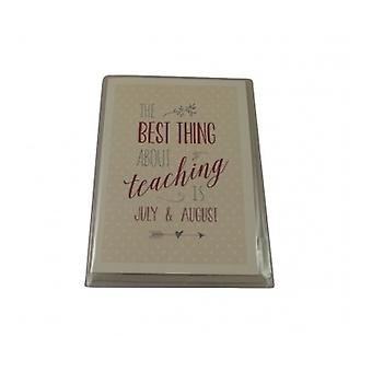 East of India Teachers Card
