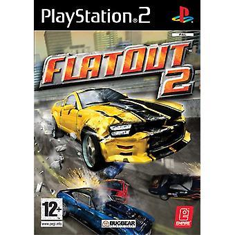FlatOut 2 (PS2) - Uusi tehdas suljettu