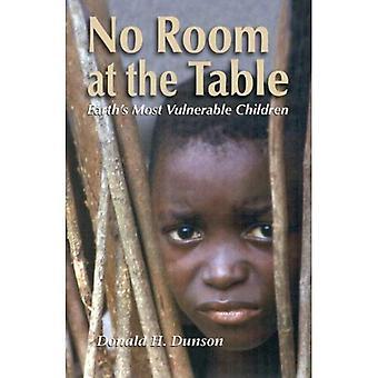 Pas de place à la Table: les enfants les plus vulnérables de la terre
