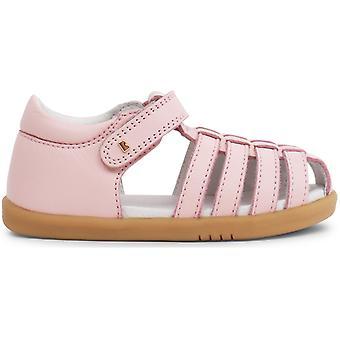 Bobux-Spaziergang Mädchen springen Sandalen Seashell Pink