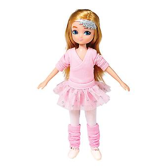 Lottie Doll Ballet Class Figure with Outfit Accessories Set and Hair
