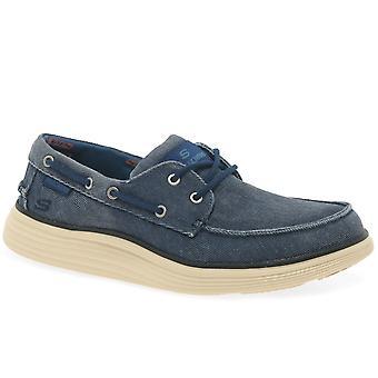 Skechers статус 2.0 Lorano зашнуровать обувь Мужская