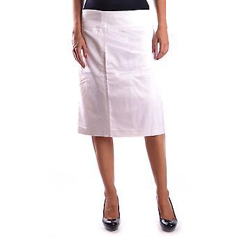 Gianfranco Ferré Ezbc105007 Women's Beige Cotton Skirt