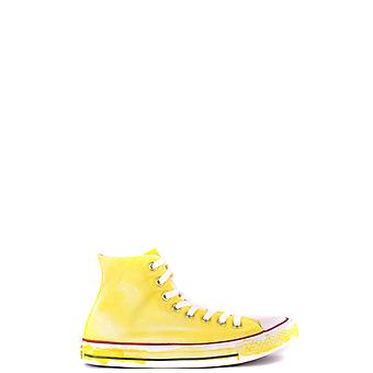 Converse Ezbc119025 Men's Yellow Fabric Hi Top Sneakers